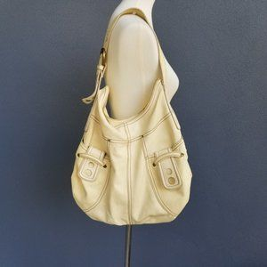 Lucky Brand Boho Style Buttery Yellow Leather Bag